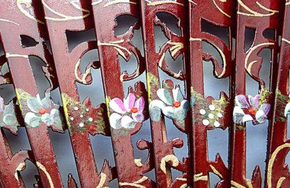 eventail-aragona-carmin-peint-main-artisanal-traditionnel
