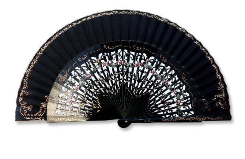 eventail-aragona-noir