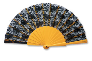 eventail-bodega-jaune-dentelle-accessoire-de-mode