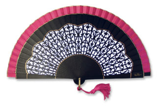 eventail-casba-fuchsia-accessoire-de-mode-soiree