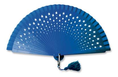 eventail-estrella-bleu-etoile-accessoire-de-mode