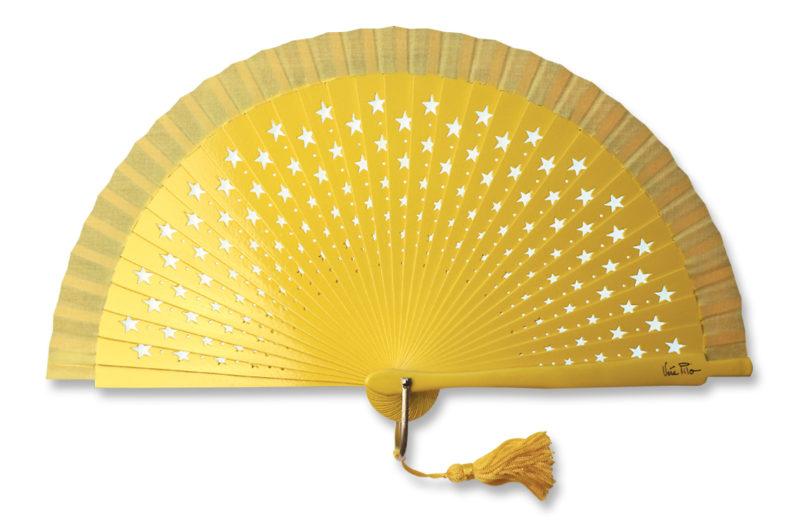 eventail-estrella-jaune-etoile-accessoire-de-mode