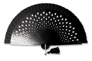 eventail-estrella-noir-etoile-accessoire-de-mode