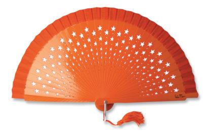 eventail-estrella-orange-etoile