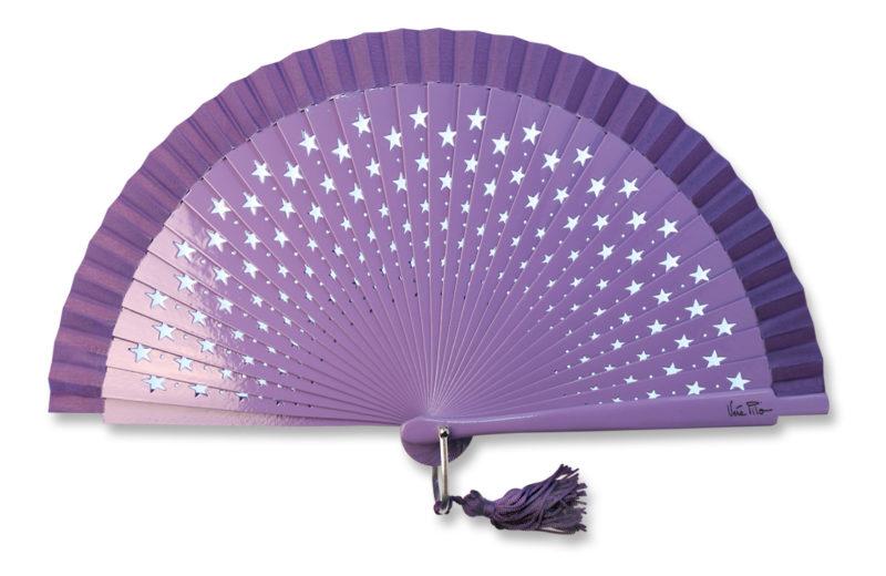 eventail-estrella-violet-etoile-accessoire-de-mode