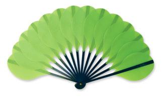eventail-palmito-vert-fluo-accessoire-de-mode