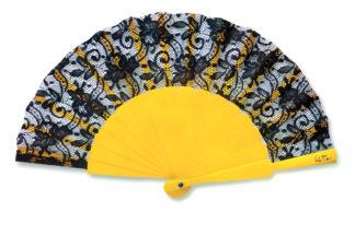 eventail-bodega-jaune-dentelle