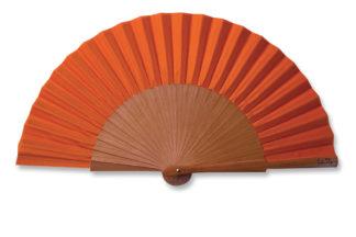 eventail-mini-ecololo-orange-accessoire-de-mode