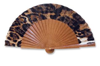 eventail-mini-felina-panthere-leopard-fauve-accessoire-de-mode