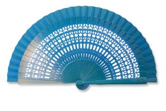 eventail-mini-mantilla-bleu