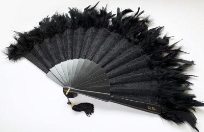 eventail-olala-noir-dentelle-plume