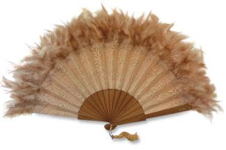 eventail-olala-beige-dentelle-plume-soiree-ceremonie-accessoire-de-mode