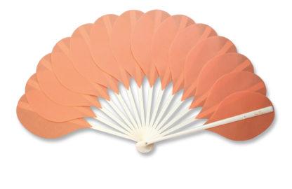 eventail-palmito-saumon-accessoire-mode