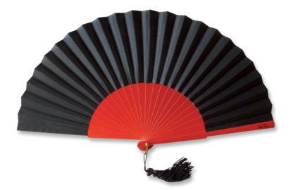 eventail-theatro-rouge-noir-accessoire-de-mode