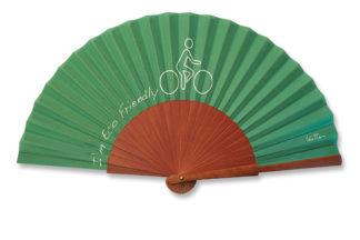 eventail-verdana-ecologie-velo-vert-accessoire-de-mode