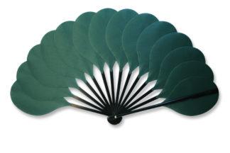 eventail-palmito-vert-sapin-accessoire-de-mode